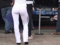 Motor Racing Girls Tight Thong Leggings