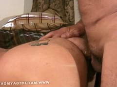Two 60 Year Old Daddies Fuck Each Other
