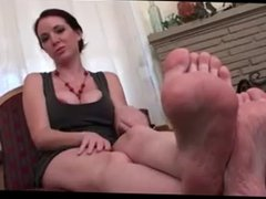 MILF feet and JOI