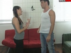 10 Kicks for a BJ w Michelle Peters BALLBUSTING YOGA PANTS