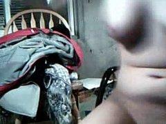 teen  masturbating in basement