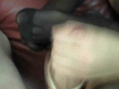 Amateur Mature Hot Hand & Feet job Milking