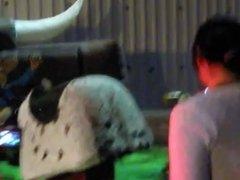 Bull Upskirt 2