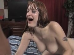 Cumshot For The Redhead Babe