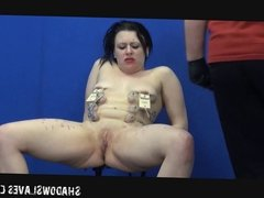 Suffering Isabels extreme domination and tit torture