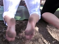 Blonde PAWGs Feet interview size 6.5