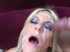 FACES OF CUM : Courtney Simpson