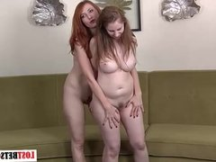 Strip Rock-Paper-Scissors with Kendra and Natalie