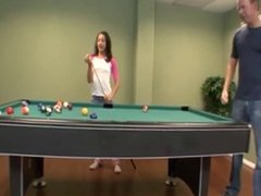 Little beauty cheating at Pool