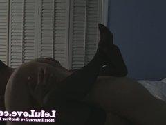 Lelu Love-Stockings Passionate Lovemaking Creampie