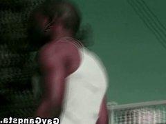 Ebony Gets Fucked Outdoor