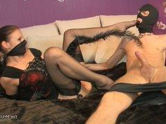 Mistress Mystery Slave Footjob
