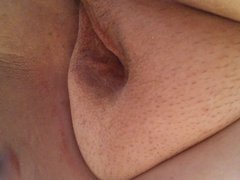 jay my toyboy likes to watch me finger fucking
