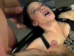 Katheryn Marie's Face Glazed By Multiple Cocks