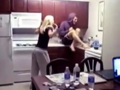 Heather Morris gets pantsed while dancing