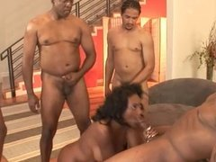 Hot cum flies anywhere and everywhere for Nyomi