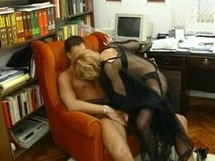 Nylon Milf - Have fun in her Sexy Nylons