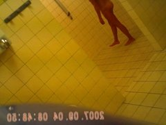 teen in shower after sport hidden cam sazz