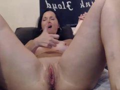 flexible milf double dildo