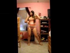 Thick Latina Bedroom Performance