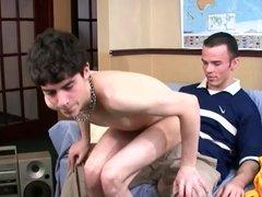 freshman seducing Senior in dorm