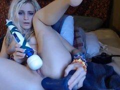 webcam hitachi and dildo fun