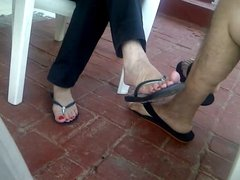 los bellos pies de mi mujercita