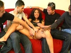 A gangbang for Dolce