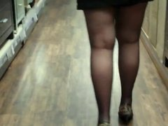 Dunelm evening shopping with wife