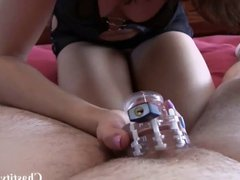 Keeping you locked up in chastity all weekend