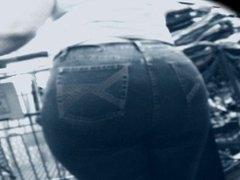 Big Butt BBW Granny Shopping - 68