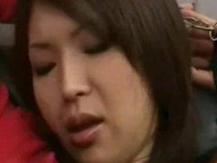 Japanese hairy pussy fucked