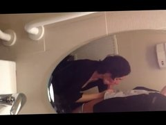 Wife's BJ in Public Toilet