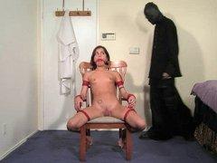 Matures woman in bondage