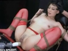 Asian Teen Gets Her Hairy Pussy Ripped