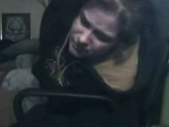 Silly sister self spanking. Stolen video