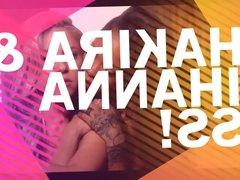 Shakira & Rihanna Ass Compilation
