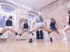 Sexy dance russian girl