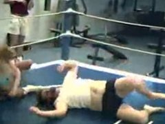 Vintage Pro Mixed Tag Team Wrestling Match