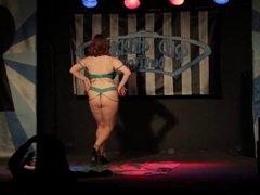 Bianca Boom Boom - big titty burlesque striptease