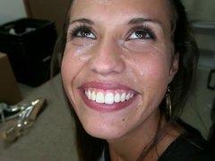 Kelsi Monroe facial