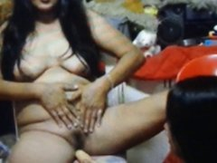 asian mature toying 1