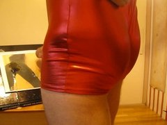 Tribute order delivery to Lovely Cumfetish Spandex Lady