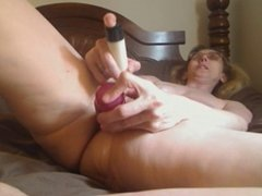 Granny mastrubating on skype