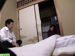 Japanese mature loves to get it hard way