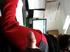 flashing my big dick, near coworker