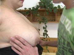 Big breasted mother fucking the guy next door