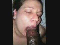 she sucking a big one