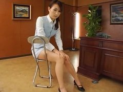 Japanese office sex