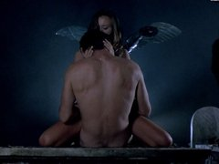 Anna Falchi sex scene from Cemetary Man